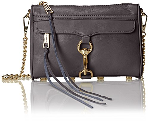 Rebecca Minkoff Mini Mac Cross Body Bag, New Grey, One Size