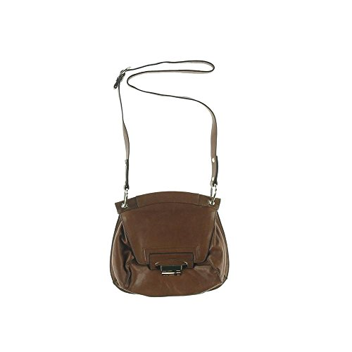 Kooba Womens Charlton Leather Flap Crossbody Handbag