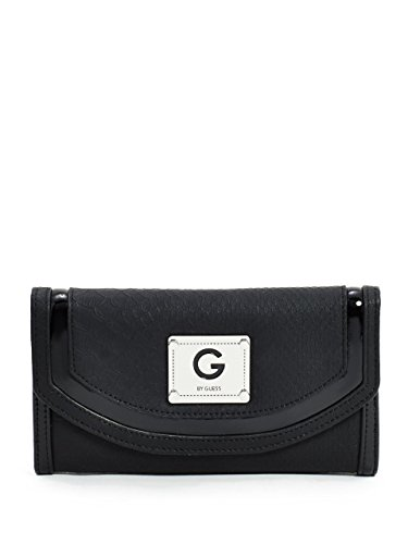 G by GUESS Women's Idona Croc-Embossed Wallet