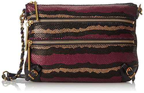 Elliott Lucca Messina 3 Zip Clutch