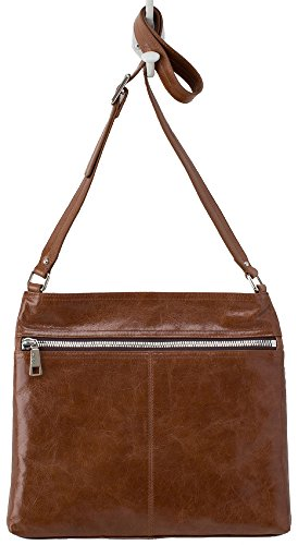 Hobo Handbags Vintage Leather Lorna Crossbody – Russet