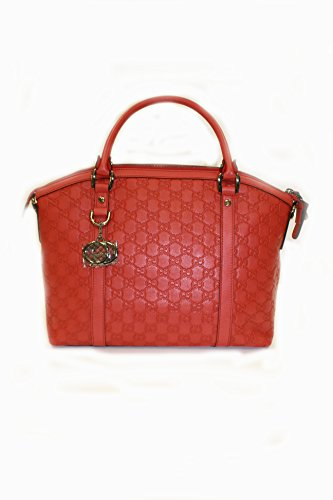 Gucci Handbag Red Leather (Purse)