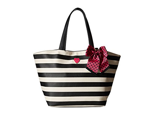 Betsey Johnson Women's Bag in a Bag (Two-Piece Set) Stripe Tote