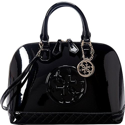 GUESS Korry Dome Satchel (Black)