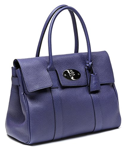 Mulberry Women's Bayswater Embossed Real Leather Handbag