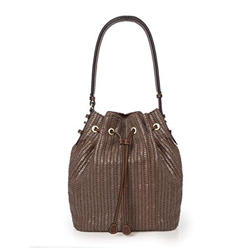 Eric Javits Designer Women's Ami Handbag (Caper)