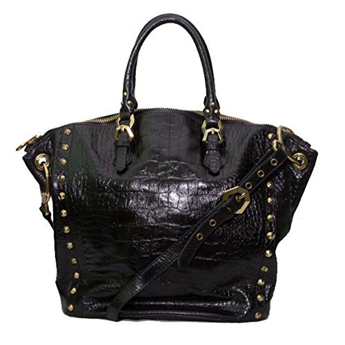orYANY Mila Croco Embossed Leather Tote.