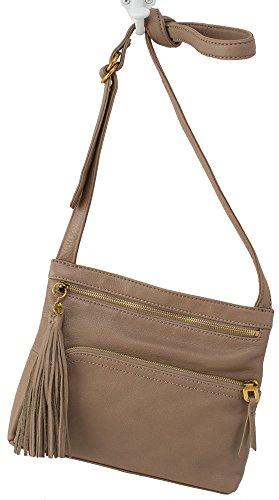 Hobo Handbags Supersoft Leather Cassie Crossbody – Mushroom