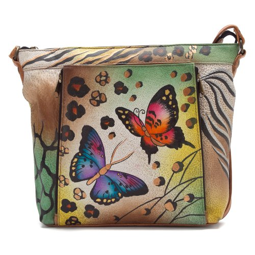 ANNA by Anuschka Medium Travel Organizer – Animal Butterfly