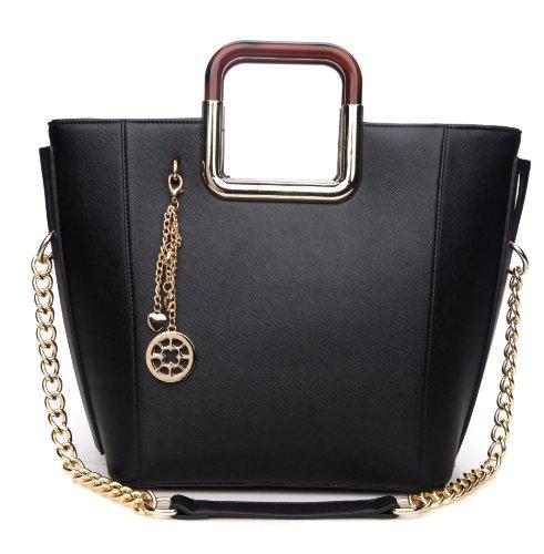 MyLux® Connection Shoulder Bag K68037l BLACK
