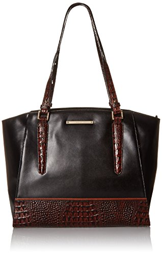 Brahmin Paris Tote Bag, Black, One Size