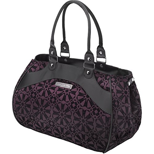 Petunia Pickle Bottom Wistful Weekender Bag, Evening Plum