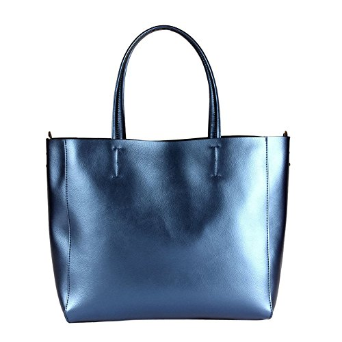 Kattee Soft Leather Large Tote Shoulder Bag