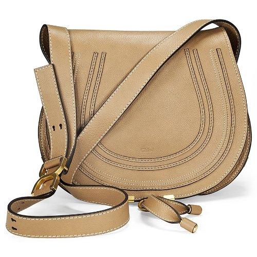 Chloe Marcie Nut Leather Crossbody Bag 3S0905-161-174