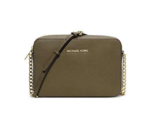 MICHAEL Michael Kors Jet Set Travel Large Crossbody (Olive)