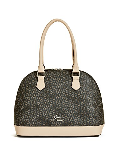 GUESS Women's Emueshe Logo Dome Satchel