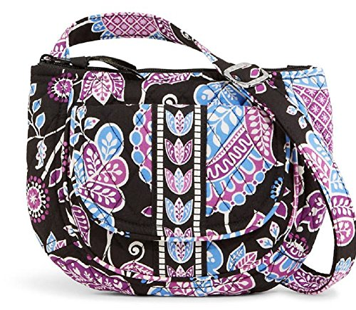 "Vera Bradley ""Lizzy"" Mini Crossover Purse/Handbag in Alpine Floral"