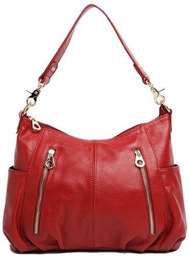 Heshe® Fashion Lady's Hot Sell Soft Cross Body Shoulder Bag Satchel Handbag Hobo Shopper Purse for Women