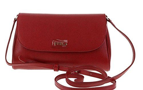 Furla Lilli Saffiano Leather Cross Body / Shoulder Bag in Cabernet (017)