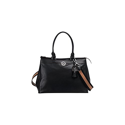 Longchamp Au Sultan Shoulder Bag, Black