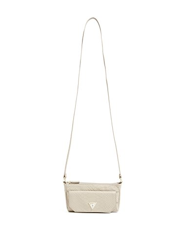 GUESS Women's Cleopatra Quilted Cross-Body Bag