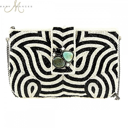 Mary Frances Wonder Struck Clutch Handbag