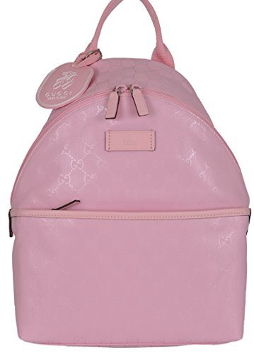 Gucci Children's Pink Imprime GG Guccissima Backpack