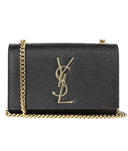 Wiberlux Saint Laurent Women's Chain Crossbody Real Leather Bag