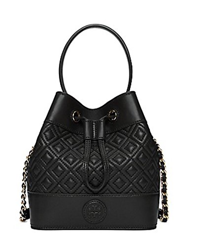 Tory Burch Marion Quilted Mini Bucket Bag $495.00