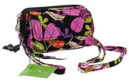 Vera Bradley All-in-One Cross-body / Shoulder / Wristlet Handbag in Pirouette Pink