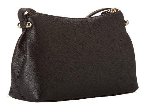 Kate Spade New York Charles Street Claudie Black Leather Cross-body Bag