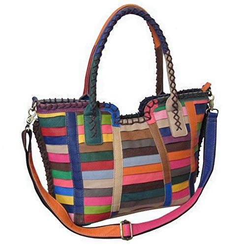Amerileather Easton Leather Handbag
