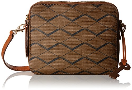 Fossil Sydney Cross Body Bag, Brown, One Size