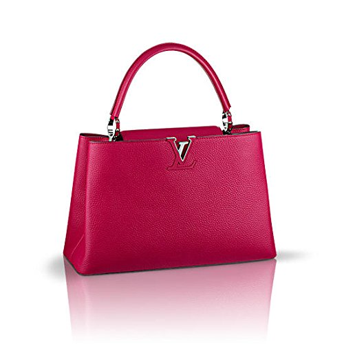 Louis Vuitton Capucines MM Fuchsia Taurillon Leather M94538
