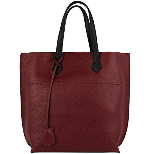 Fendi Leather Shopping Tote