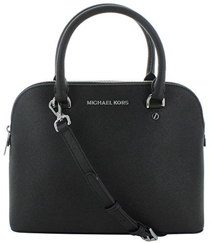 Michael Kors Cindy Women's Saffiano Medium Leather Satchel Handbag
