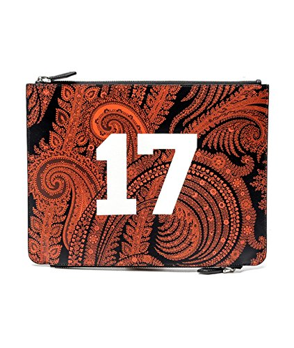 Givenchy Women's Paisley Print Real Leather Clutch