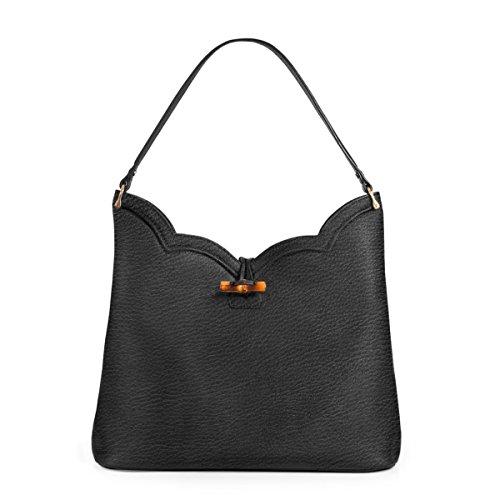 Eric Javits Designer Women's Tia Handbag (Black)