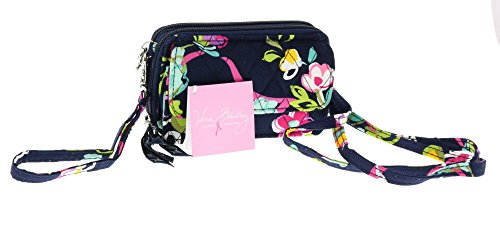 Vera Bradley All-in-One Cross-body / Shoulder / Wristlet Handbag in Ribbons