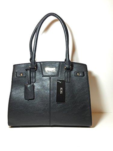 Bcbg Paris Handbag Chic Story Bag, Regular Size, 2015 Collection Black