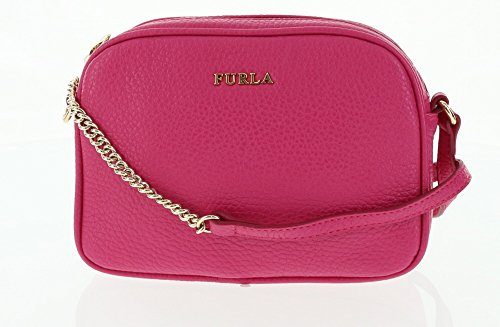 Furla Pebbled Leather Cross-body / Shoulder Handbag in Gloss (030)