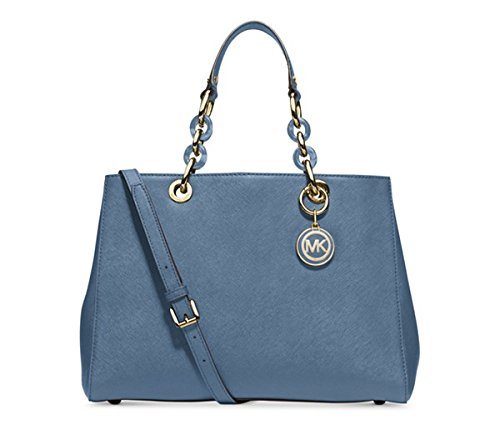 MICHAEL Michael Kors Cynthia Medium Satchel (Cornflower)