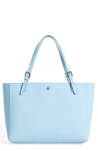 Tory Burch York Buckle Tote Small Fairview Blue Bag
