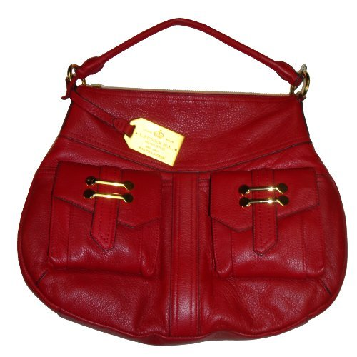 Women's Lauren Ralph Lauren Bermondsey Hobo Handbag (Hunting Red)