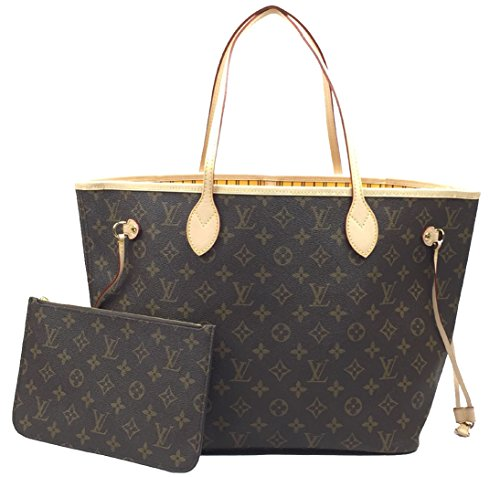 Louis Vuitton Neverfull MM Monogram Mimosa M40997 Handbag