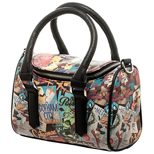 Official DC Comics Characters Bombshell Mini Satchel Tote Small Evening Handbag