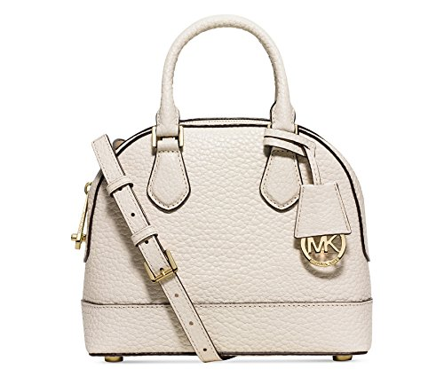 MICHAEL Michael Kors Womens Smythe Small Dome Satchel