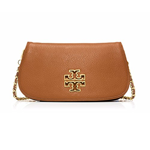 Tory Burch Britten Clutch Bark