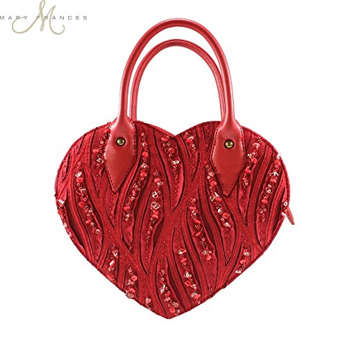 Mary Frances Hearts On Fire Handbag