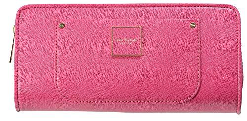 Isaac Mizrahi Designer Handbags: Saffiano Valerie Clutch